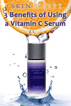 3 benefit of using a vitamin c serum: 1) reduces wrinkle depth and repairs collagen 2) brightens and tones tissue 3) applying vitamin C to the skin can be 20 times more effective than taking it orally.