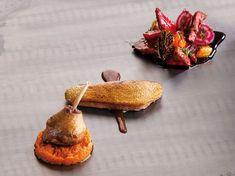 Canard rôti, légumes au caramel de betterave et purée de potiron (Jean Imbert, Top Chef) - Recettes