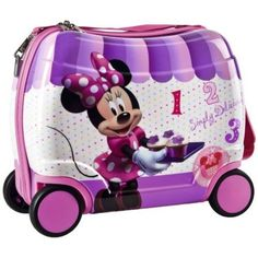 Disney's Daisy Duck Ride On Suitcase | Disney Purses & Bags ...