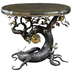 Mark Brazier-Jones 2013, Unique Pomegranate Coffee Table | From a unique collection of antique and modern coffee and cocktail tables at https://www.1stdibs.com/furniture/tables/coffee-tables-cocktail-tables/