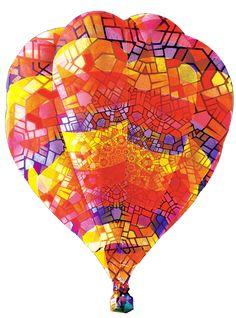 The Albuquerque International Balloon Fiesta, October 1-9, 2016.  Largest balloon festival in the world.