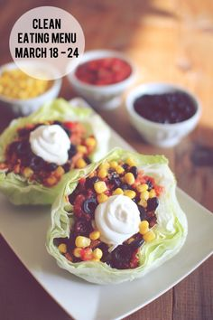 weekly menu | jenny collier blog  love the idea of lettuce wrap tacos... should have thought of this years ago!!