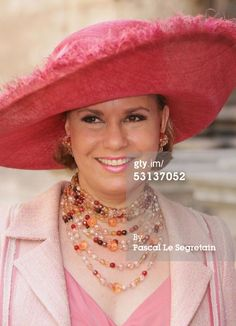 Grand Duchess Maria Teresa of Luxembourg , June 23, 2005