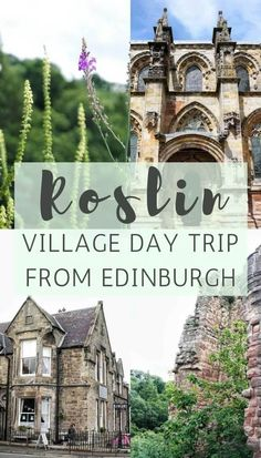 Not far from Edinburgh, you'll find the charming village of Roslin. Overlooked by the rolling hills of the highlands, here's a quick guide to Roslin!