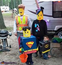 Lego Family Halloween Costume