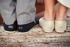 cute his and her toms