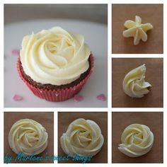 How do you make a rose with Wilton Tip 1M                                                                                                                                                                                 Mehr