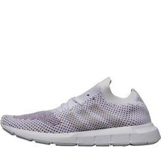 pretty nice 2dcd9 e2aae adidas Originals Herren Swift Run Primeknit Sneakers Weiß