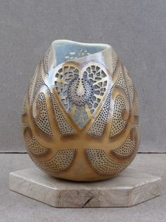 Image result for john pointek gourd art