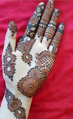 Ideas Bridal Henna Hands Simple Mehndi Designs For 2019 Mehndi Designs Front Hand, Latest Arabic Mehndi Designs, Finger Henna Designs, Mehndi Designs For Girls, Mehndi Designs For Beginners, Modern Mehndi Designs, Bridal Henna Designs, Dulhan Mehndi Designs, Mehndi Design Pictures