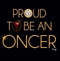 Proud to be a Oncer (via @darkcoragraph)