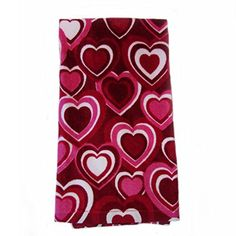 "2 Pk Valentine Heart Rings Plush Kitchen Towels- 16"" X 26"" Ritz http://www.amazon.com/dp/B01B35G1WG/ref=cm_sw_r_pi_dp_5QpWwb05WY5YT"