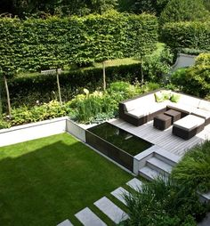 Aus dem garten wird eine oase : terrasse von ecologic city garden – paul marie creation Find Terrace Designs: The garden becomes an oasis. Discover the most beautiful pictures for inspiration for the design of your dream home.