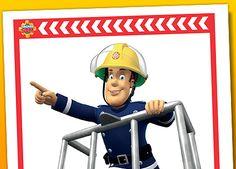 Fireman Sam printables