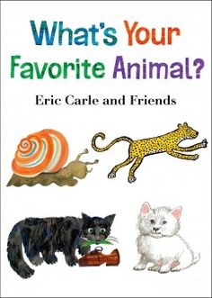 JJ BOARD WHA. Fourteen children's book artists share their favorite animals and why they love them.