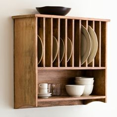 Wall Mounted Plate Rack