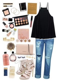Untitled #566 by emmapierce42 on Polyvore featuring polyvore, Aéropostale, 7 For All Mankind, Carvela, Givenchy, Dogeared, Stella & Dot, LULUS, Sonix, Dolce&Gabbana, MAC Cosmetics, MAKE UP FOR EVER, L'Oréal Paris, Jimmy Choo, Bare Republic, OPI, Matter and Home, Jayson Home, fashion, style and clothing