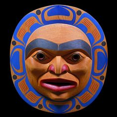 Moon (1993) by Tony Hunt Jr., Kwakwaka'wakw (Kwagiulth) artist (X110908)