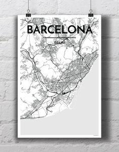 Barcelona City Map