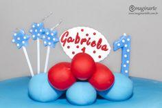 Aniversário de 1 ano da Gabriela - Tema: Galinha Pintadinha - Fotos: Imaginarte Recordações