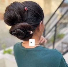 Hair Buns, Bun Hairstyles, Fashion, Moda, Fashion Styles, Bun Hairstyle, Fashion Illustrations, Chignons