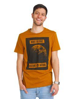 ELEMENT WAKE UP T-SHIRT GOLD BROWN www.fourseasonsclothing.de  #element #elementskateboards #t-shirt #shirt #men