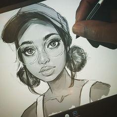 Sketch by melmadedooks.