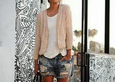 large shorts style