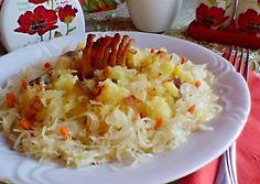 Rázottka /Straszanka/ recept foto Kefir, Cabbage, Grains, Rice, Vegetables, Recipes, Food, Essen, Eten