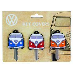 Paladone Schlüsselüberzug VW-Bus 3er-Set - VW Bulli