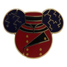 Your WDW Store - Disney Hollywood Studios Pin - Tower of Terror Bellhop Mickey Icon