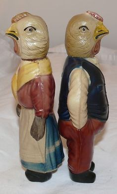 Rare Antique USA Celluloid Chicken People Baby Rattles 1800'S Early 1900'S | eBay