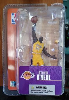 Shaquille O'Neal L.A. Lakers Mini Figurine #LALakers