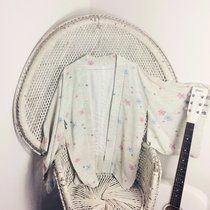 Vintage kimono jacket with large elegant sleeves, authentic Japanese garment. Perfect for festivals this summer, billowy and elegant. Check out my feedback for reviews. Free size from UK6-16 depending on how you like your fit. Good condition but please expect signs of wear with vintage items such as marks, small tears etc. #bestival #boho #bohemian #secretgardenparty #vintage check out and follow for more unique vintage: @peacevintage Facebook/peacevintageplymouth