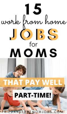 If you want a work from home jobs for moms this is the list for you. See what your options are from moms who are working from home with their kids today. See what they do, how to get started, and most importantly how much you can earn. Ways To Earn Money, Earn Money From Home, Earn Money Online, Way To Make Money, Work From Home Options, Work From Home Opportunities, Best Money Saving Tips, Money Saving Mom, Online Jobs For Moms