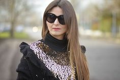 The pink carpet fashion blog by Lucy Diegoli: Pelliccia e paillettes