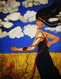 Guiar~Original Art-Elizabeth A Soroka