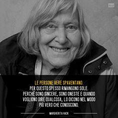 Margherita Hack citazione