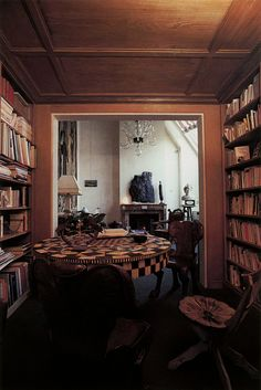 Pascal Greggory's Paris apartment. Photo by Philippe Girardeau, 1988.
