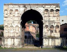 Restoration and renovation to the Arch of Janus