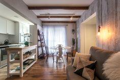 3 apês pequenos com dicas úteis (de 60m² a 100m²) #estilo escandinavo #ambientes integrados