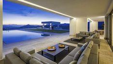 Contemporary New Villa with fabulous sea views in La Zagaleta, Marbella, Spain in Benahavís, Spain. Luxury Real Estate for sale. Sauna A Vapor, Piscina Interior, Marbella Spain, Marbella Villas, Bedroom Layouts, Suites, Next At Home, Luxury Villa, Luxury Real Estate