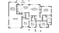 Smaller square footage, but with a few tweaks could be good. Good space to add on a mother in law suite.
