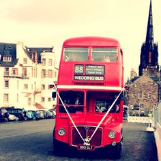 Vintage wedding bus :) Totally doing this <3