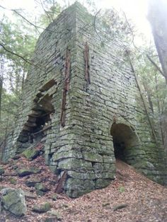 An extremely remote/forgotten iron furnace rediscovered by the American Ghost Town Hunters........find out more at treasureillustrated.com