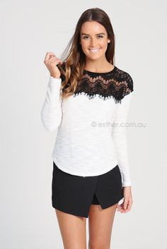 vera top - white | Esther clothing Australia and America USA, boutique online ladies fashion store, shop global womens wear worldwide, designer womenswear, prom dresses, skirts, jackets, leggings, tights, leather shoes, accessories, free shipping world wide. – Esther Boutique