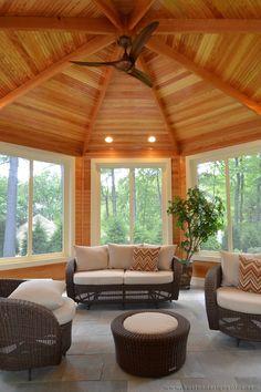 Sunroom (JP Development | Custom Home Builder in Newtonville, MA)