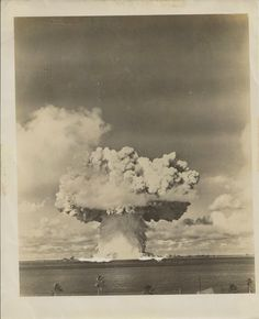 Rare photographs of atomic bomb testing at Bikini Atoll