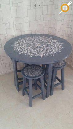 Ahşap sandalye boyama örnekleri