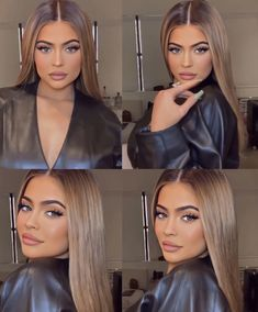 25 Pretty Makeup Looks to Try in 2019 Estilo Jenner, Kylie Jenner Look, Kylie Jenner Hair Brown, Kylie Hair, Light Brown Hair, Cool Hair Color, Brown Hair Colors, Balayage Hair, Hair Looks